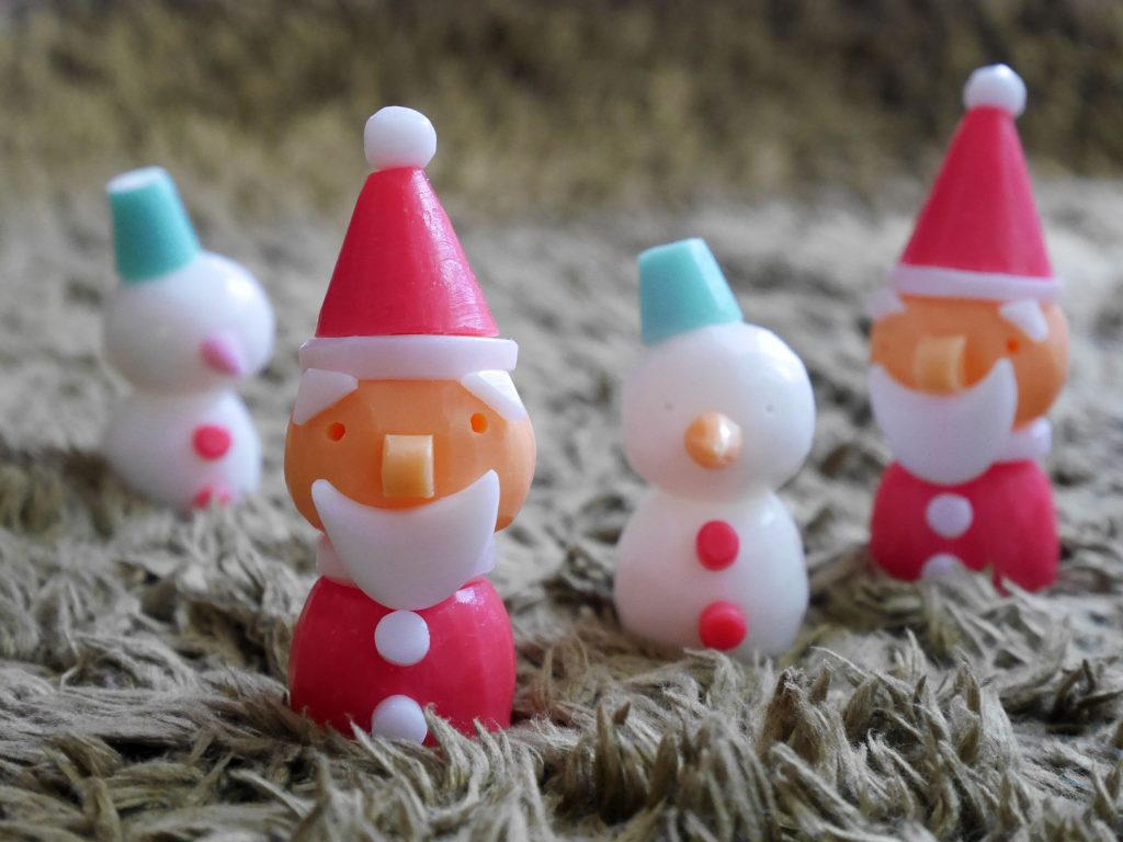 クリスマスソープカービング